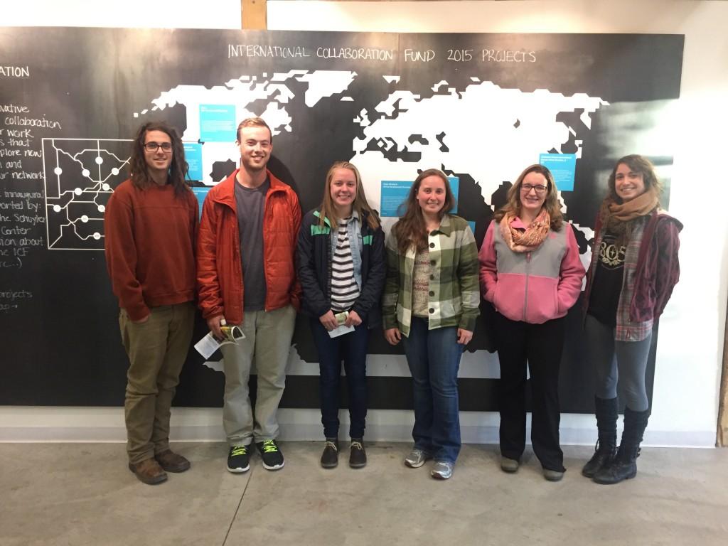Students at the Posner Center in Denver.