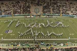 Football vs UNLV at Sonny Lubick Field at Hughes Stadium. CSU Won 49-35 on Senior Night. November 14, 2015