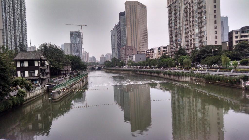 Chengdu river front