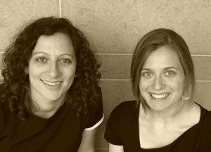 Professors Sophie Esch and Silvia Soler Gallego.