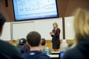 Karen Gebhardt, Assistant Professor in the Department of Economics.