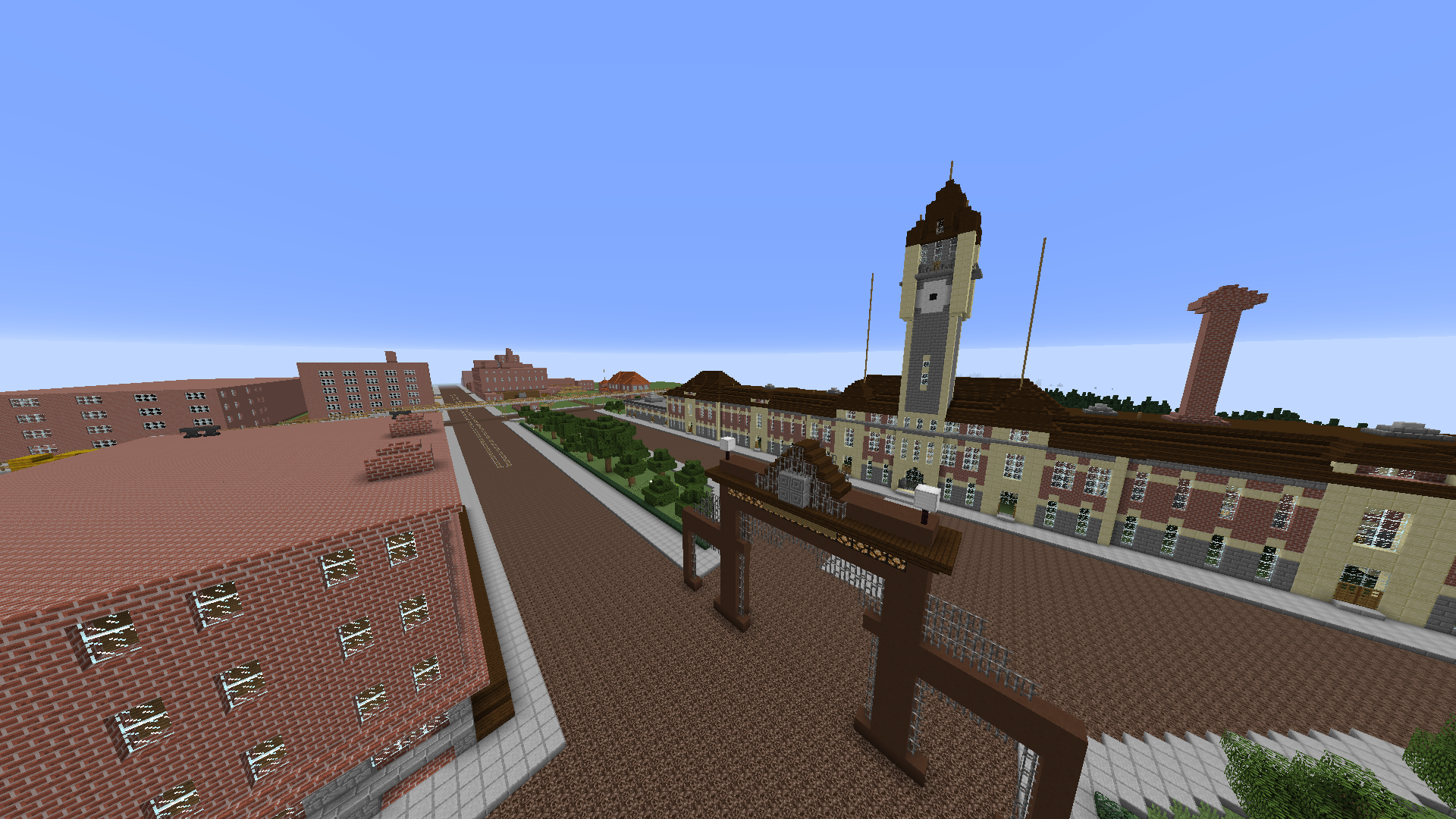 Digital History Students Re Creating 1905 Denver In Minecraft Magazine