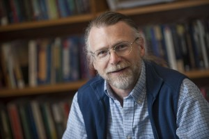Mark Fiege, professor in the Department of History. Photo by Kelly Gorham.