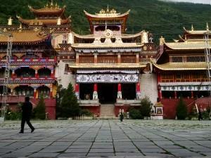 Tibetan monastery in Kangding