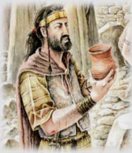 In pre-Roman Spain, beer, or caelia, was the beverage of choice.