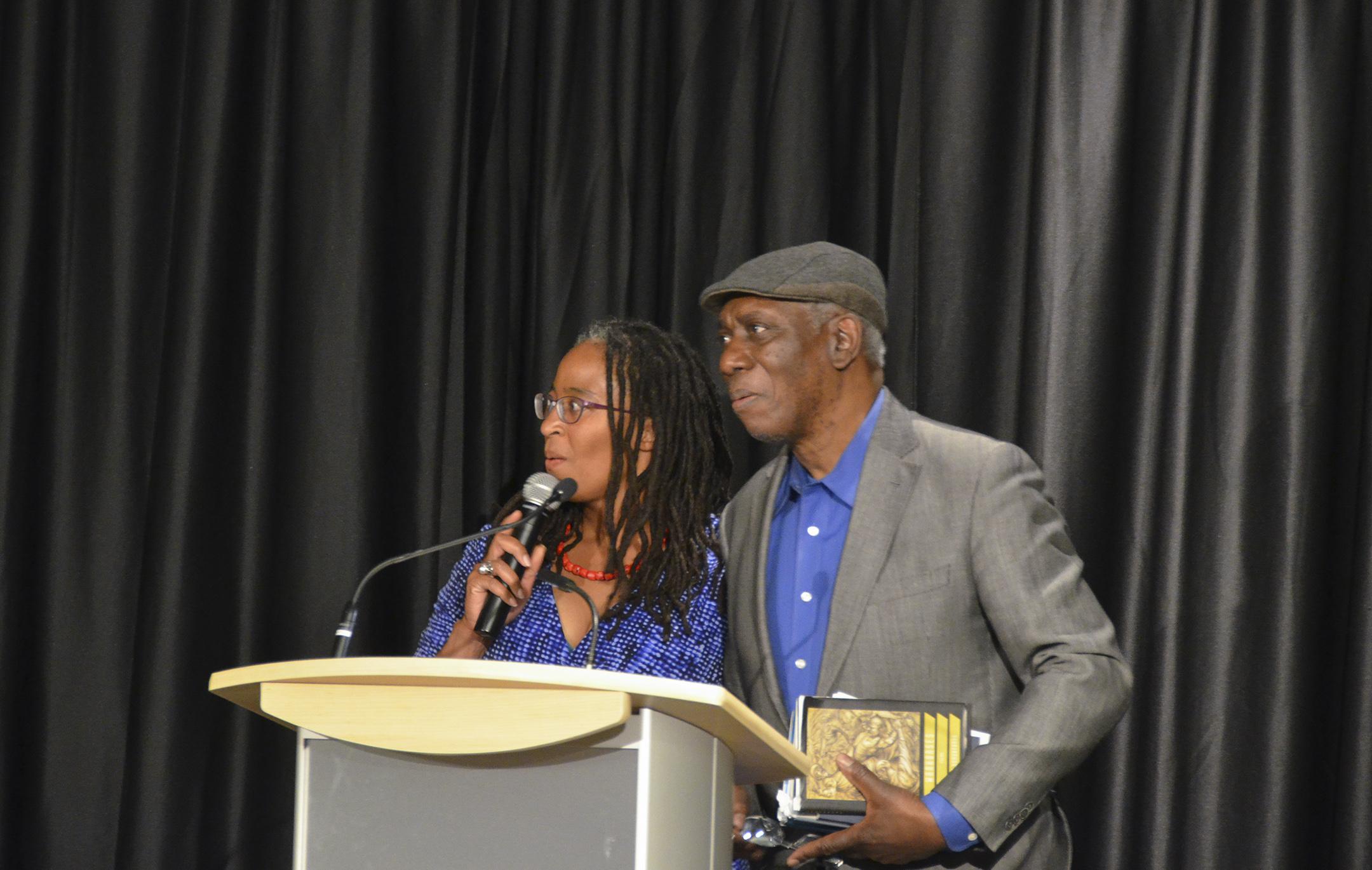 Camille Dungy and Yusef Komunyakaa