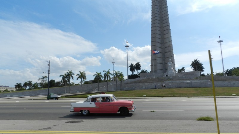 Revolutionary Square in Havana, Cuba.