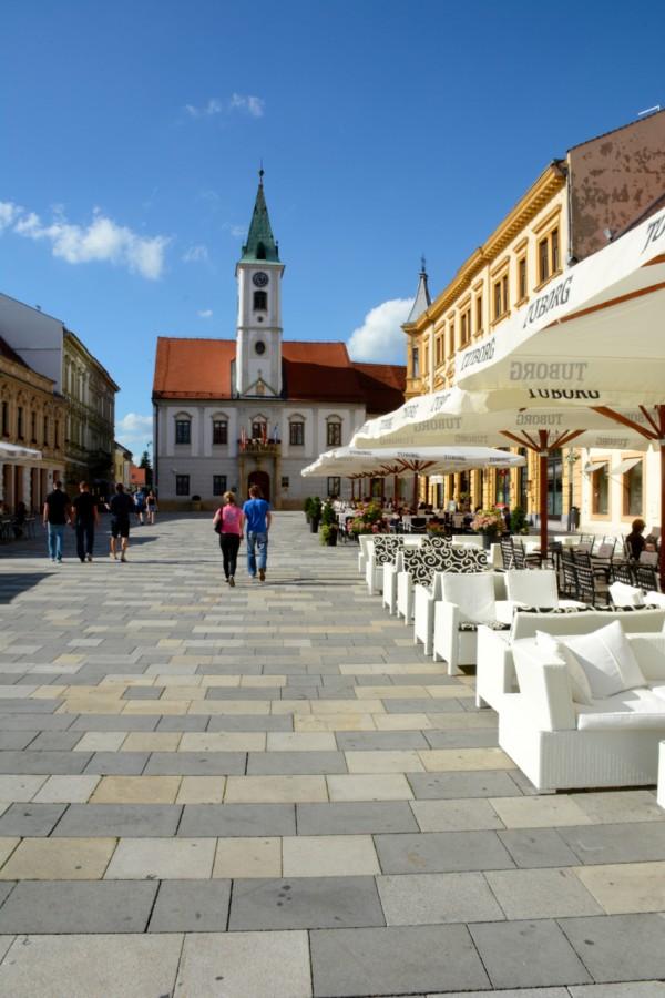 Downtown Zagreb