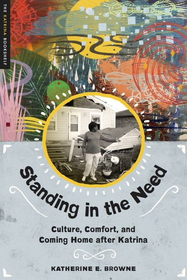 Browne's new book, Standing in the Need