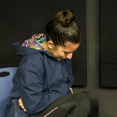 Theatre student Kayla Ibarra web