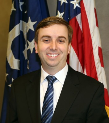 Travis Hall works as a Foreign Service Officer at the U.S. Embassy in Beijing, China. U.S. Embassy Beijing Press Office.