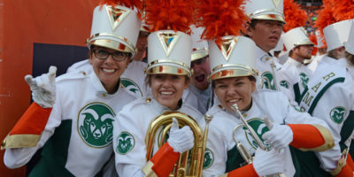 All eight colleges at CSU are represented in the band, which includes 250 members.