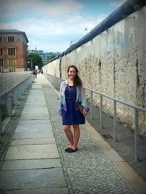 Upper Level of Berlin Wall Memorial