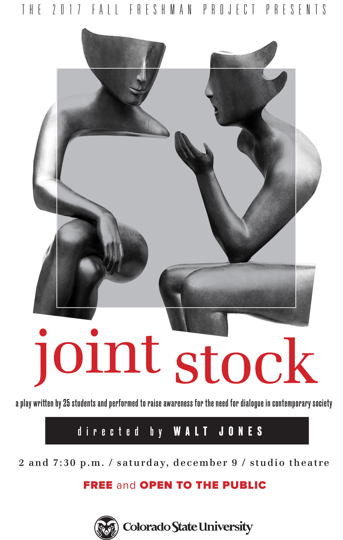 Poster of the Joint Stock performance project