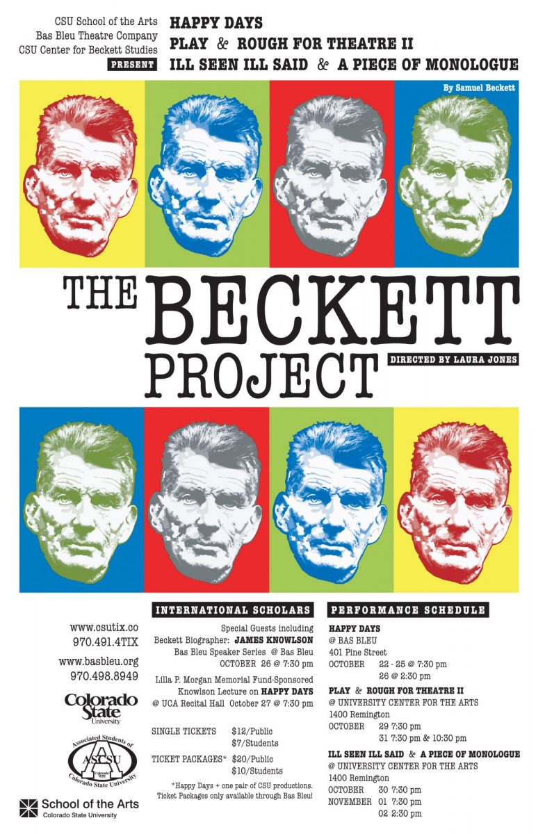 Poster for The Beckett Project