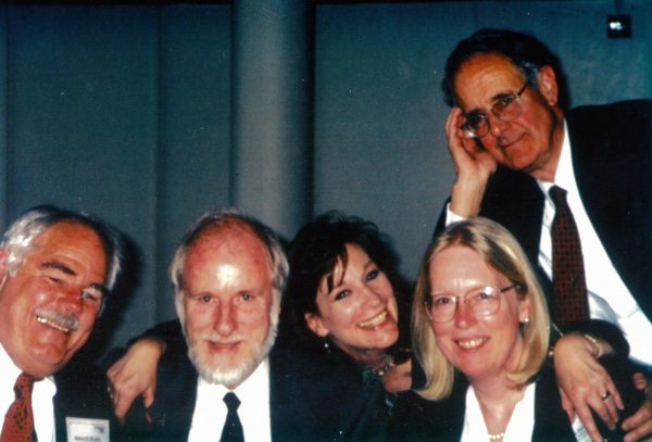 Laura Jones and other actors in the 1990s