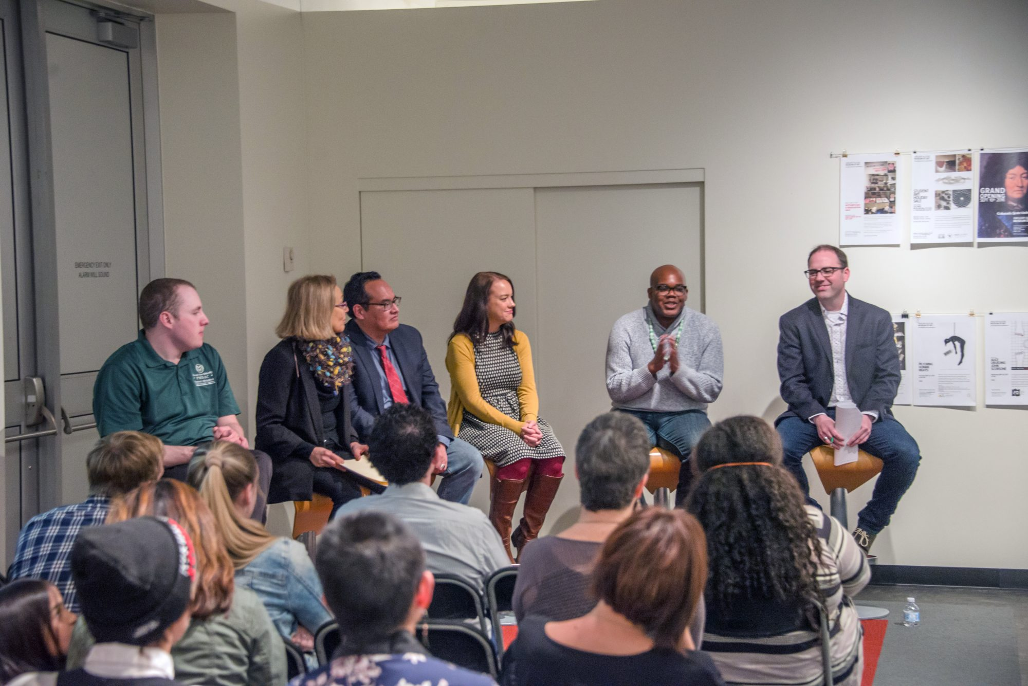 Panelists at the MIX event