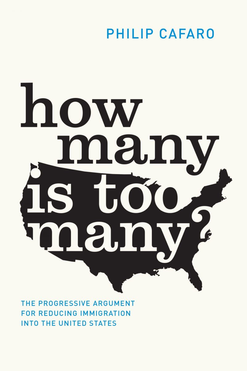 Book cover for Phil Cafaro's book How Many Is Too Many?