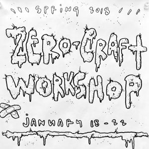 Zero Craft Workshop illustrative sketch