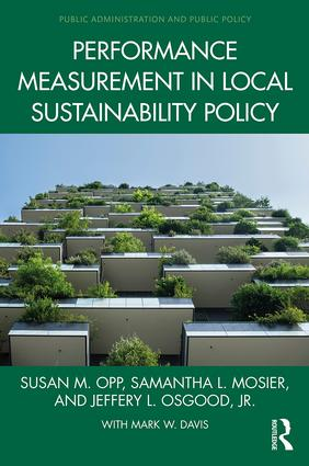 Book cover for Performance Measurement in Local Sustainability Policy