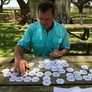 Rancher using Kate Browne's tiles