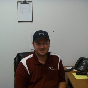 Scott Sandridge, the Parks and Grounds superintendent for the City of Evans