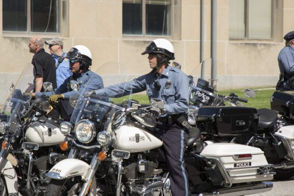 group of police officers on motorcylces