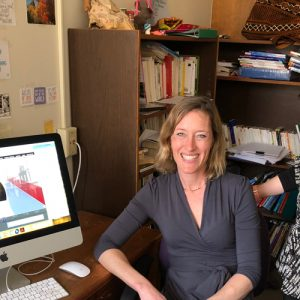 Gretchen O'Dell and Chisato Nii Steele, instructors from Languages, Literatures, and Cultures