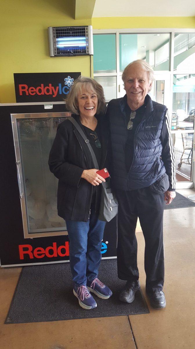 Pamela Sachs-Kapp and Jim Sawyer