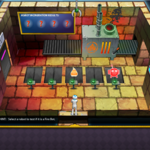 Screenshot from CYCLES game