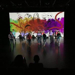 Social Justice Thru the Arts 2019 dance performance