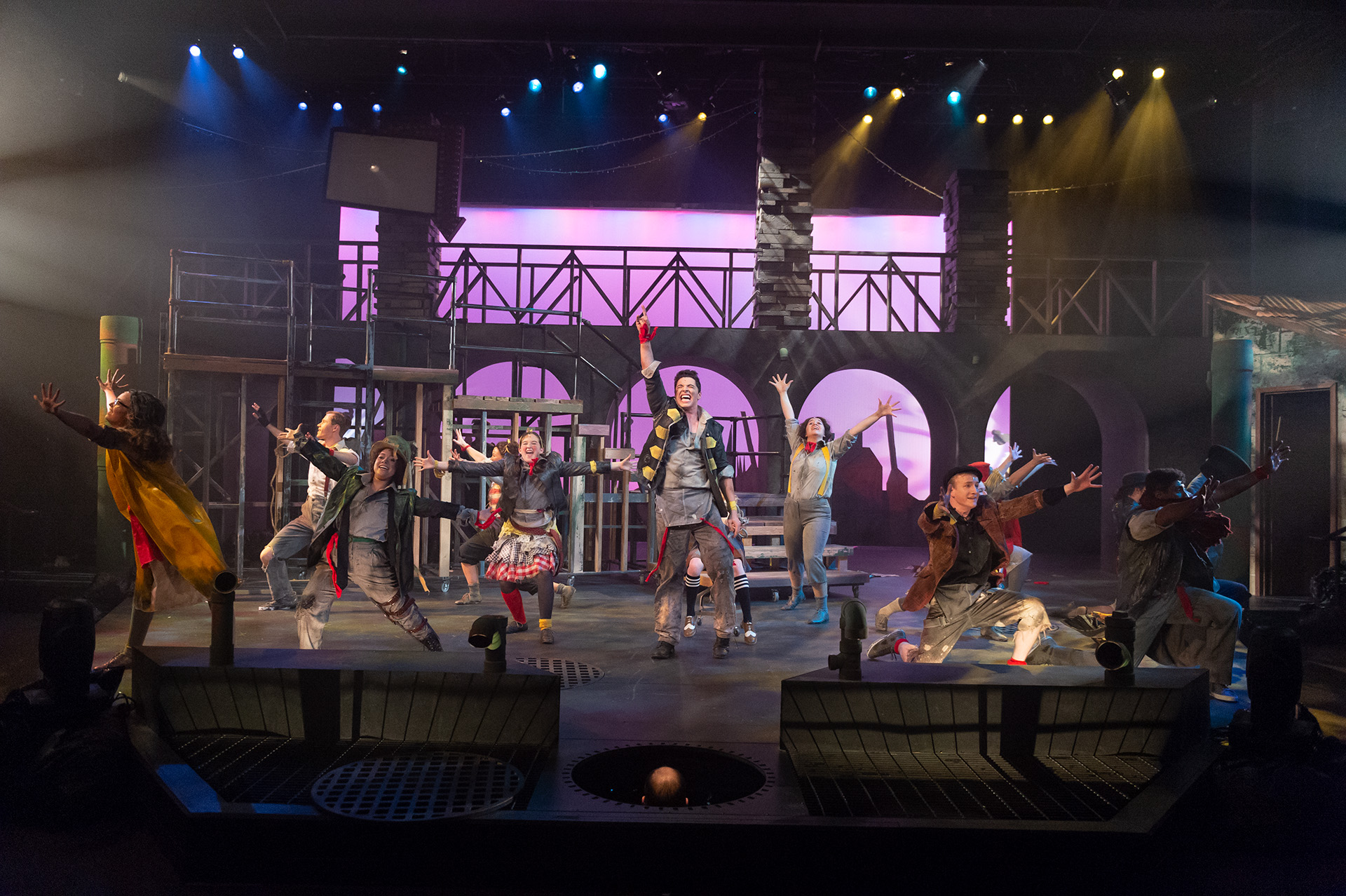 Musical theatre performance at the CSU University Center for the Arts