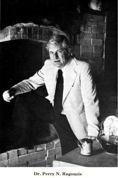 Perry Ragouzis portrait in late 1960s