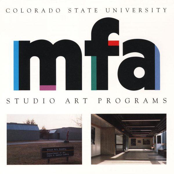 image of the cover of the CSU MFA program brochure