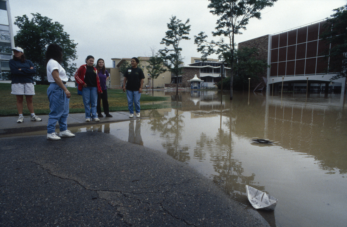 1997 flood at the Eddy building