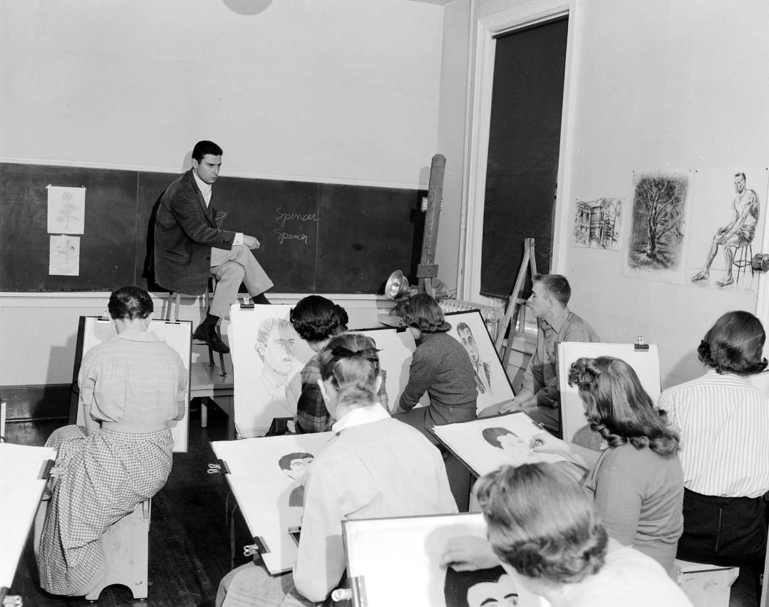 figure drawing 1956