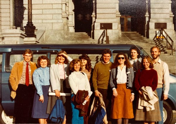 1983 group of CSU legislative interns