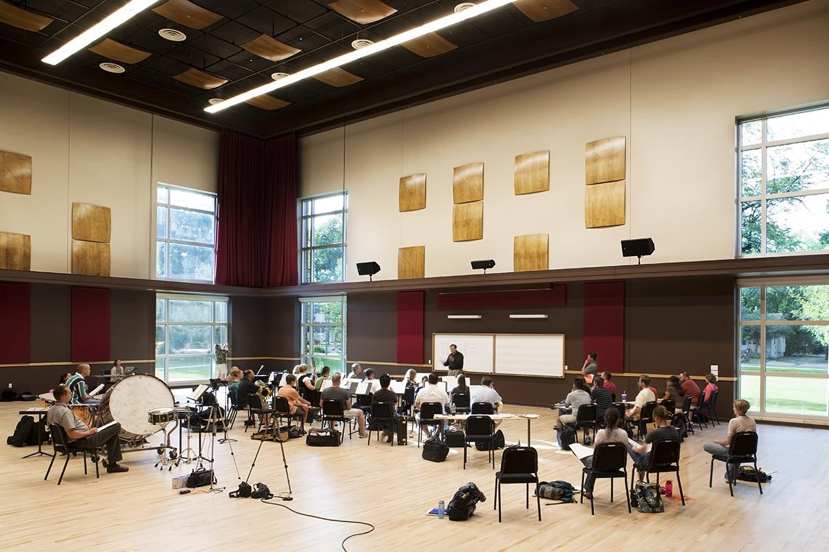 Instrumental Rehearsal Hall