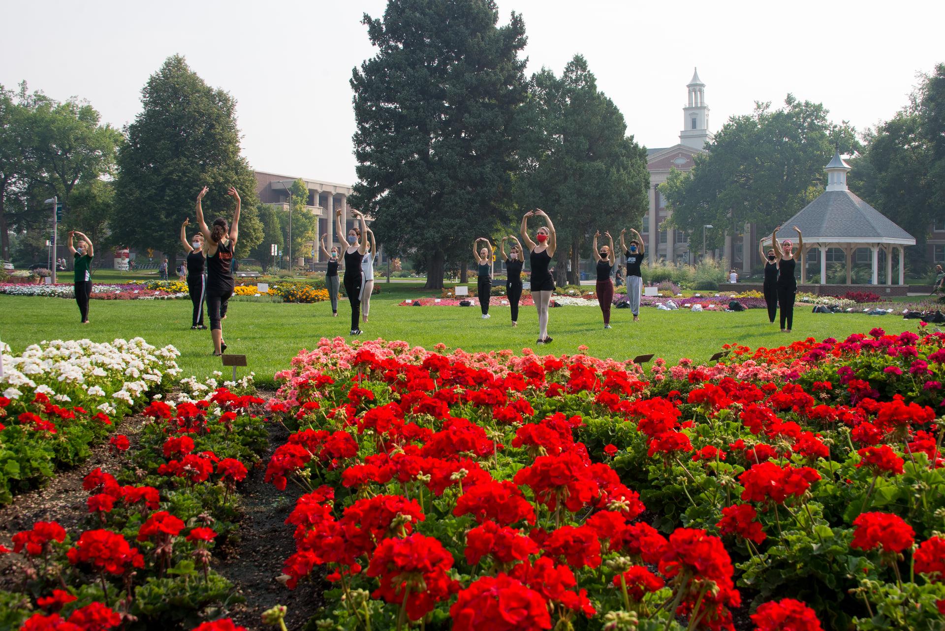 CSU Dance students