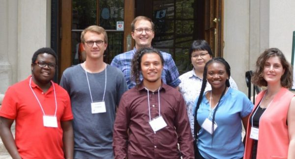 Assistant Professor Anders Fremstad and a group of graduate students