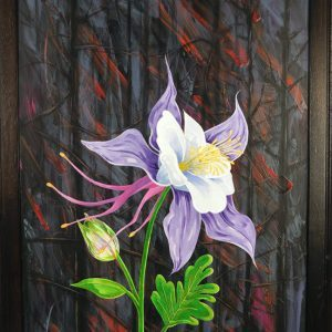 Colorado Strong painting by CSU alumnus Bob Coonts